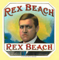 Rex Beach Cigar Box Label
