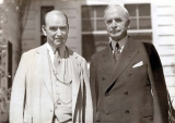 Hamilton Holt with Cordell Hull, Secretary of State