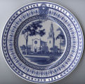 Wedgwood Commemorative Rollins Plate: Knowles Memorial Chapel